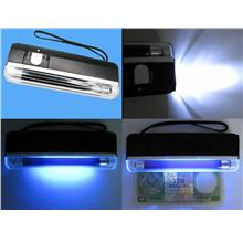 1pc UV PORTABLE BANK NOTE MONEY DETECTOR *NEW*