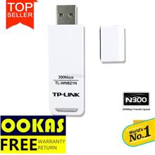 TP-LINK 300Mbps Wireless N WiFi USB Adapter TL-WN821N