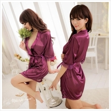 2013 spring and summer women sexy pajamas translucent Silk nightgown J