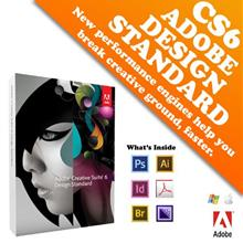 Adobe Creative Suite 6 Design Standard Full Pack (Retail)