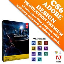 Adobe Creative Suite 6 Production Premium Full Pack (Retail)