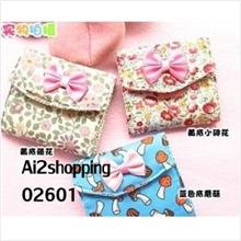 02601Korean version kawaii three sanitary napkin package