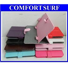 7 inch Universal Quality Flexi Kick Stand Leather Case Casing Android