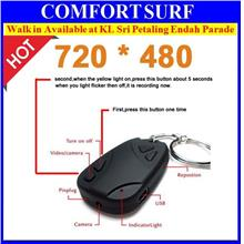 Sport Spy Car Remote Keychain CCTV Pinhole Camera Optional Upto 32GB