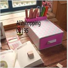 DIY desktop drawer boxes+pen holder02195
