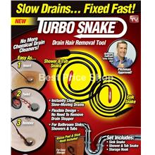 1 Sets of Turbo Snake - UNCLOG ANY DRAIN