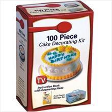 FREE Shipping 100 PCS CAKE DECO KIT