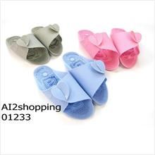 Korea Hot portable both sides of the shoe/massage slippers01233