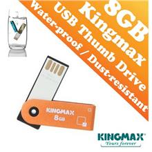 Kingmax PD-71 Metal Housing USB Drive (8GB) - Waterproof and Dustproof