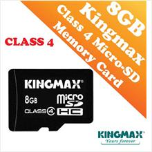 Kingmax 8GB CLASS 4 Micro-SD HC Card (Waterproof & Dustproof)
