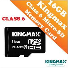 Kingmax 16GB CLASS 6 Micro-SD HC Card (Waterproof & Dustproof)