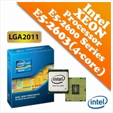 Intel Xeon Processor E5-2603 (1.80GHz,10MB Cache,4C/4T,LGA2011)