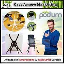 Free Gift + Spider Podium Tablet Gadget Holder For Smartphone/tablet