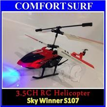 3.5 Channel Skywinner 808 RC Helicopter with LED Light, 3D, Gyro Kids