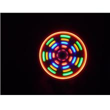 LED Fan Light Matrix Magic Colorful Rainbow Flashing Gift Grow in Dark