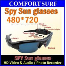 New HD Spy Sun Glasses Camera, Audio & Video Camcorder Recorder CCTV