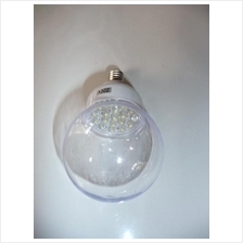Ultra Bright Energy Saving LED Ball Light Bulb 1W AC E14