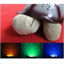 ORI Music Turtle LED Night Lamp Light Star Projector Baby Sleep Toy