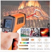 Cheapest Infrared Contactless Industrial  -50-330?c IR Thermometer LCD