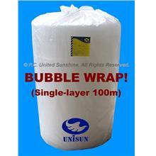 BUBBLE WRAP Single Layer FOOD GRADE 1m x 100m PROMO Plastic Packing