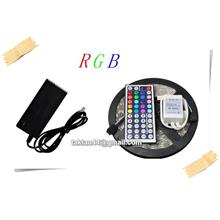 5M RGB 5050 Semi Outdoor Strip light + R. Control + Controller + PSU
