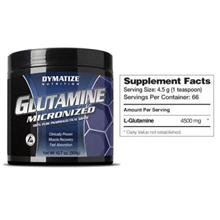 Dymatize Glutamine 66 serving (Muscle Recovery & Help Digest )