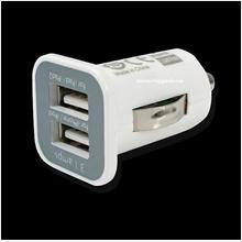 2 Port USB Car Charger For iphone5 | Samsung | ipad - Free shipping