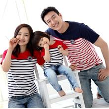 Striped Family/Couple T-shirt