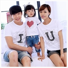 I Love You Korean Style Family T-shirt