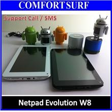 Sales Netpad Evolution W8 Build In Sim Call/SMS, Android 4.0 Tablet PC