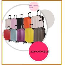 ABS+PC Spinner Expandable Suitcase Luggage Trolley Bag 20' 24' 28'