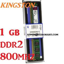 1GB Kingston Desktop PC DDR2 RAM 800Mhz PC-6400 KVR800D2N6/1G Memory