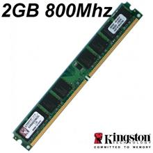 2GB Kingston Desktop PC DDR2 RAM 800Mhz PC-6400 KVR800D2N6/2G Memory