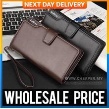 Original Baellerry PU Premium Quality Faux Leather Men Long Wallet