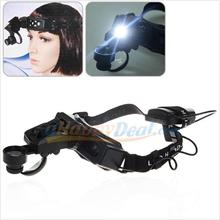 1 set New 1 LED LED Headband Magnifier-Reading/Timepiece Repair-9892