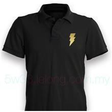 Black Adam Symbol Polo Shirt