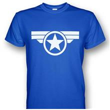 Captain America Steve Rogers Super Soldier T-shirt