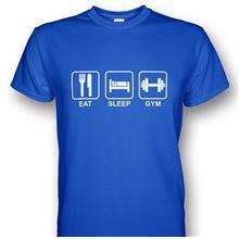 Gym Motivation Eat Sleep Gym T-shirt