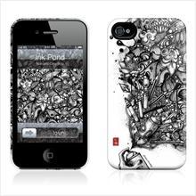 Gelaskins Hardcase for iPhone 4 4s - Ink Pond