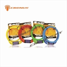 [CRONUS.MY] CRONUS MULTI-FUNCTIONS SAFETY NUMBER CABLE LOCK 4 COLOURS