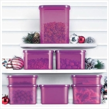 Tupperware Modular Mates Set  —Limited Release— purple container