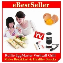 FREE GIFT + Rollie EASY Egg Master Vertical Grill Cooking Breakfast
