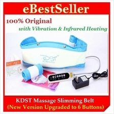 New! KDST Body Massage Slimming Belt Shaper Upgraded Infrared+ Heating