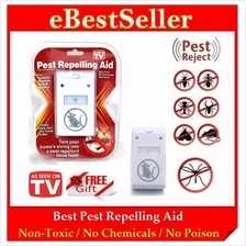Electric Pest Repelling repeller Aid Original Come with Retail Packing