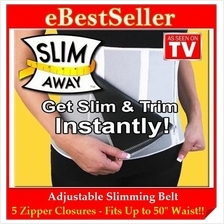 FREE GIFT + Adjustable Man Woman Slimming Belt Slim Away Unique Zipper