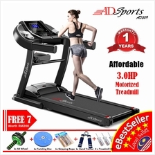 ADSports AD509 Electric Treadmill 3.0HP Home Gym Fitness + FREE 7 Gift