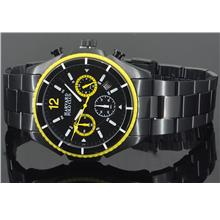 Harvard Polo Men Chronograph Watch 6014G-BLK-42