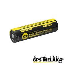 Nitecore 18650 Li-ion 3500mAh Micro USB Rechargeable Battery
