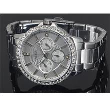 Alba Ladies Swarovski Crystal Dress Watch VD75-X050WSS