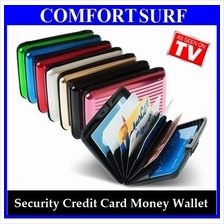 ALUMA Security Credit Card ID Cash Money Wallet + FREE GIFT
